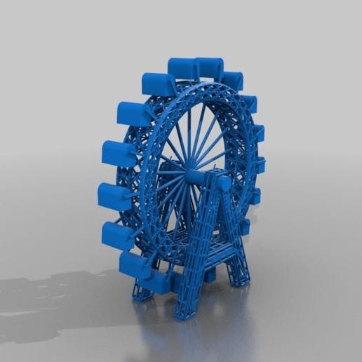 b4d14a93b3da0dc15ed9ae4b243f725c.png Télécharger fichier STL gratuit riesenrad Wien Vienne Prater • Modèle à imprimer en 3D, syzguru11
