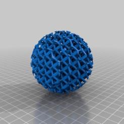 Descargar diseños 3D gratis bola de intersección hexagonal, syzguru11