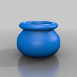 Descargar archivo 3D gratis pot, syzguru11
