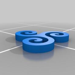 Télécharger fichier STL gratuit symbole • Plan à imprimer en 3D, syzguru11