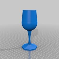 Impresiones 3D gratis copa de vino becher, syzguru11