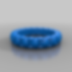 Download free 3D printer model teardrops ring, syzguru11