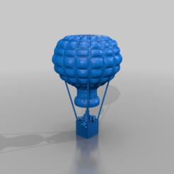 Download free 3D printer model Hatschibratschiluftballoon and chicken, syzguru11