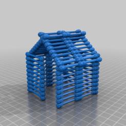 Télécharger modèle 3D gratuit maison en coton-tige, syzguru11