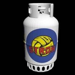 Télécharger fichier STL gratuit bouteille de gaz, syzguru11