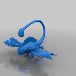 Download free 3D printer files vincis flying dickfish, syzguru11