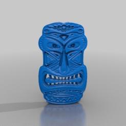 Descargar STL gratis máscara tótem, syzguru11