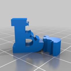 Descargar archivos STL gratis un mordisco de B, syzguru11