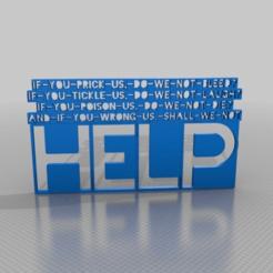 Télécharger fichier STL gratuit Si vous nous piquez, nous ne saignons pas ? Si-tu-tu-attaches/// • Design pour impression 3D, syzguru11