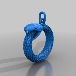 Download free 3D model snake ring, syzguru11