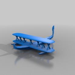 Télécharger objet 3D gratuit la vénétie des avions à eau, syzguru11
