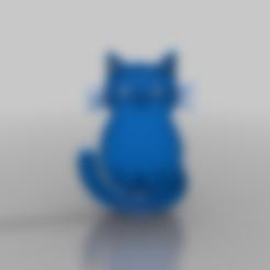 catt1v.stl Télécharger fichier STL gratuit chat • Modèle pour impression 3D, syzguru11