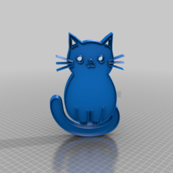 Download free 3D printer files cat, syzguru11
