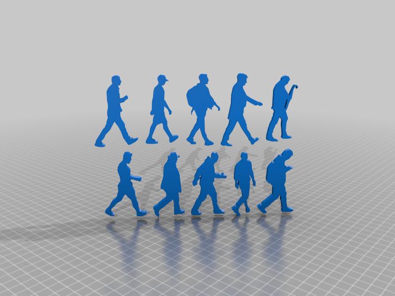 10-man-walking-silhouette-coverv.png Télécharger fichier STL gratuit 14 autocollants anti-collision pour prévenir les impacts d'oiseaux sur les vitres des fenêtres - autocollants pour fenêtres pour impression 3d • Plan imprimable en 3D, syzguru11