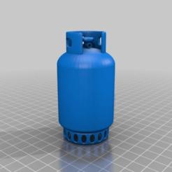 Descargar archivo 3D gratis botella de gas, syzguru11