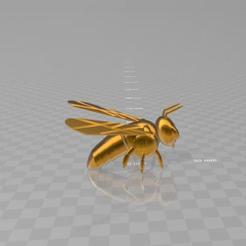 beee.jpg Télécharger fichier STL gratuit bee • Objet pour impression 3D, syzguru11