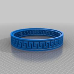 Télécharger modèle 3D gratuit bracelet grec, syzguru11