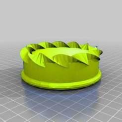 Download free 3D printing files yellow cake, syzguru11