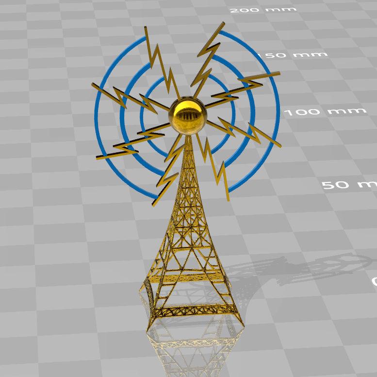 radiotower-broadcast1.jpg Télécharger fichier STL Radiotour de radiodiffusion • Plan pour impression 3D, syzguru11