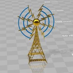 Download STL file Radiotower broadcasting • 3D printable template, syzguru11