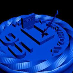 Download free 3D printing templates happy 95 birthday, dig in...., syzguru11
