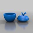 Download free 3D printer designs apple grinder 2  ( WEED HERB HEMP SPICES ), syzguru11