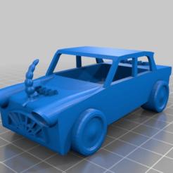 Télécharger fichier imprimante 3D gratuit FIAT Luxus Wagon, syzguru11