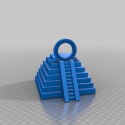 Télécharger plan imprimante 3D gatuit pyramide avec porte des étoiles, syzguru11