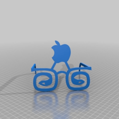 Download free 3D model menthal-ray ban by apple  .ankank, syzguru11