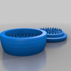 Descargar modelos 3D gratis SENCILLO molino de hierbas y especias de hierba, syzguru11