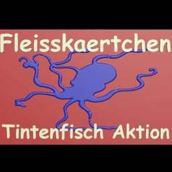 Download free 3D print files Card Fleisskaertchen Tintenfisch, syzguru11