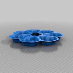 Download free 3D printer templates Baking Mandelbrot ( Cookie Form ), syzguru11