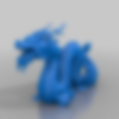Descargar archivo 3D gratis dragón chino, syzguru11