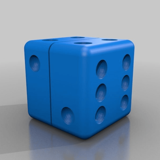 Download free 3D model DICE weed hemp spices grinder, syzguru11