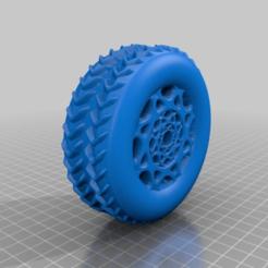 Descargar archivo 3D gratis rueda, syzguru11