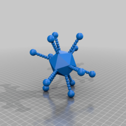 Download free 3D printing templates adenovirus, syzguru11