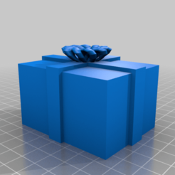 Download free 3D printing files present box  ..there might be dragons in it, syzguru11