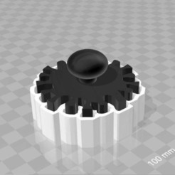 Download free 3D model corona-cookie cutter with pushout stencil, syzguru11