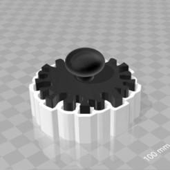 Télécharger fichier 3D gratuit coupe-cuisine corona avec pochoir à pousser, syzguru11