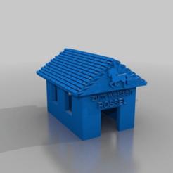 Télécharger plan imprimante 3D gatuit altes Wirtshaus - zum weissen roessel / vieux bar, syzguru11