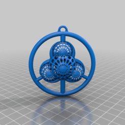 Imprimir en 3D gratis signo de bio paz xover, syzguru11