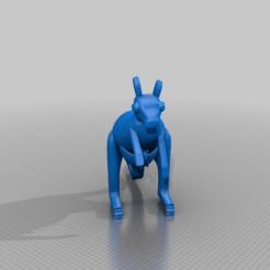Download free 3D printer designs kanguru baby, syzguru11