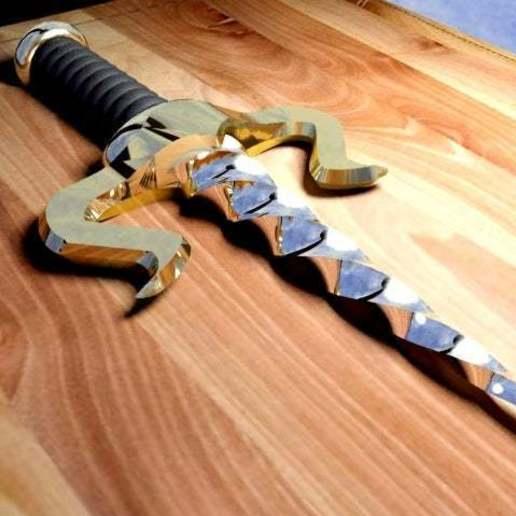 daggerdiablo1.jpg Download free STL file Dagger Diablo • 3D print design, syzguru11
