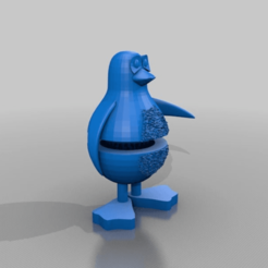 Download free 3D printer templates penguin grinder, syzguru11