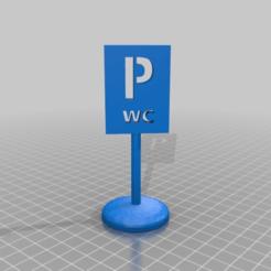 Download free 3D printing files P  wc, syzguru11