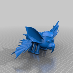 Download free STL file gizmo bee bat, nicht das zuckerwasser!! • 3D printable object, syzguru11