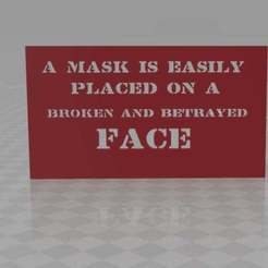 mask2.jpg Download free STL file ...a mask is easily placed • 3D print object, syzguru11