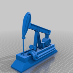 Descargar modelos 3D gratis #Bomba de aceite, syzguru11