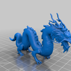 Descargar archivos 3D gratis Dragón Chino Miniatura - archivo pequeño / reparado - sin plato, syzguru11