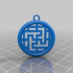 Descargar archivos STL gratis símbolo bhudista, syzguru11